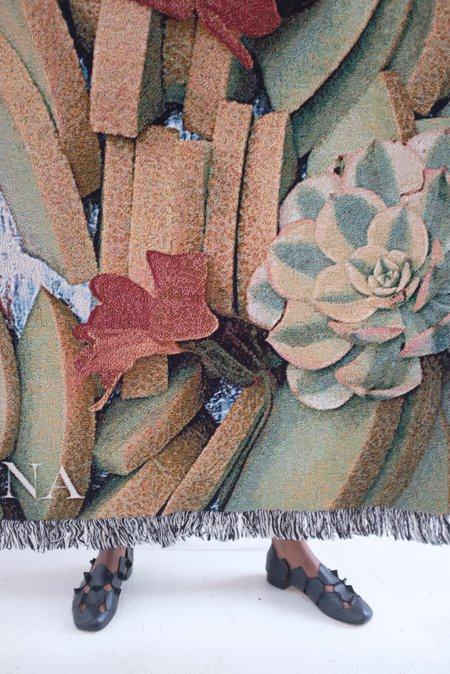 Beklina Throw Blanket - Melon Platter