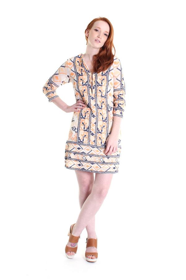 Antik Batik Aldo crochet mini dress in multi