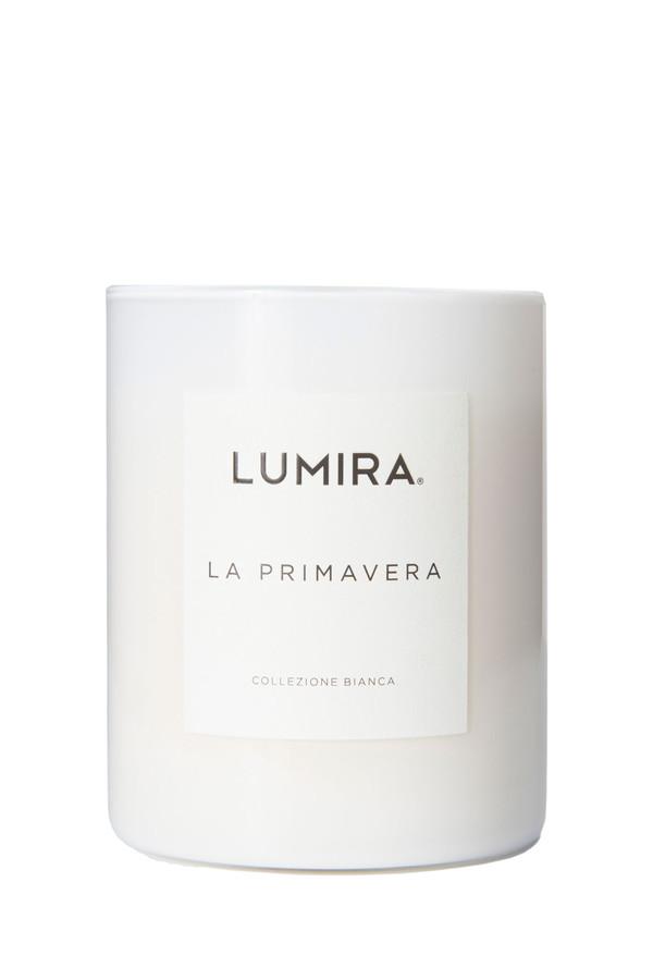 Lumira collezione bianca candle in la primavera