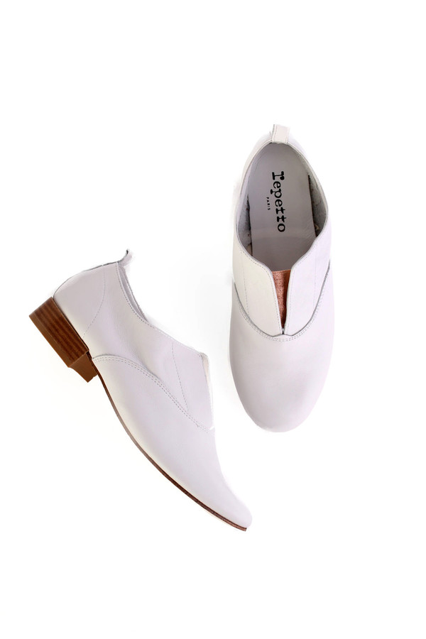 Repetto Dean oxford in white