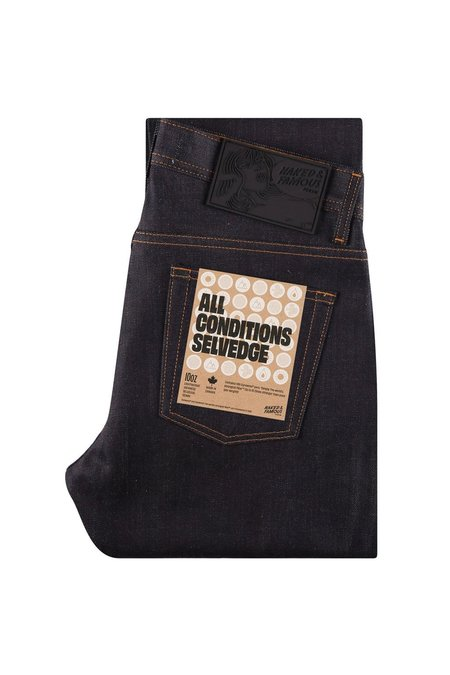 NAKED & FAMOUS Weird Guy All Conditions Selvedge Jeans