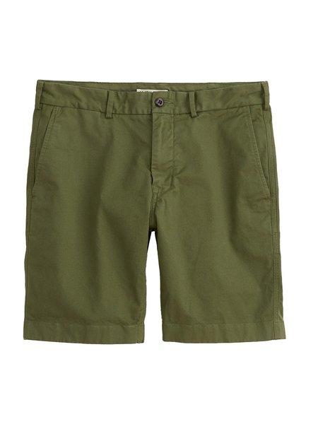 Alex Mill Standard Chino Shorts - Army Olive