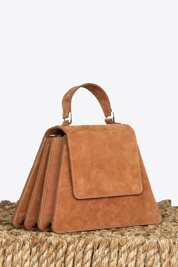 Ceri Hoover Kyle handbag in cognac