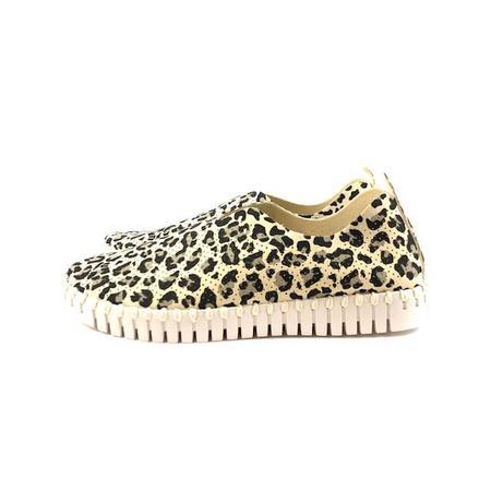 Ilse Jacobsen Sneaker - Tulip 139 (Milk Creme Leopard)