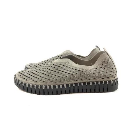 Ilse Jacobsen Sneaker - Tulip 3575 (Grey on Black)