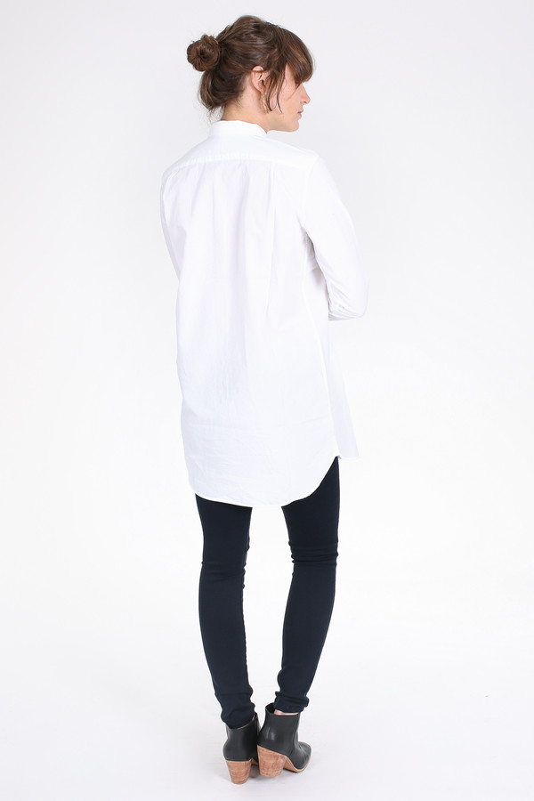M.i.h Jeans Oversize shirt in white