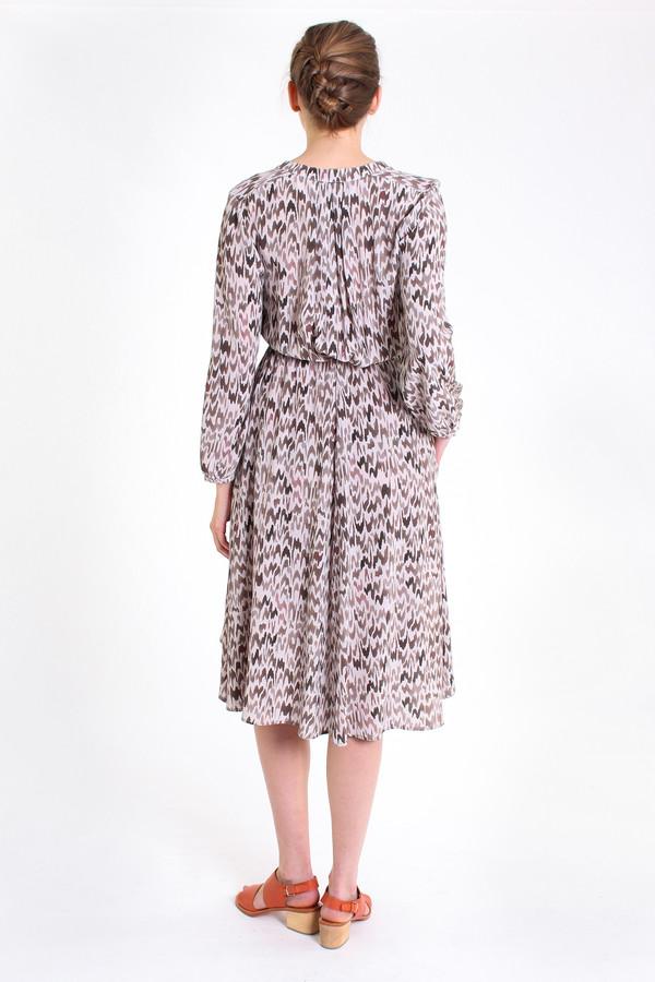 The Podolls Rowan printed dress in hazel