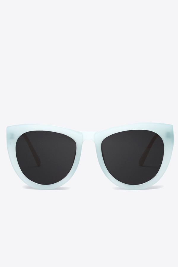 Smoke x Mirrors Run around sue sunglasses in mint pearl