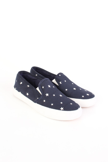 Chinti and Parker Slip on sneaker in star print
