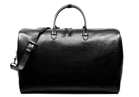 Lotuff Leather No. 12 WEEKENDER BAG - BLACK