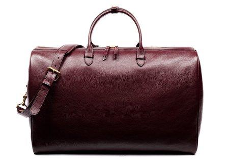 Lotuff Leather LOTUFF No. 12 WEEKENDER BAG - CORDOVAN