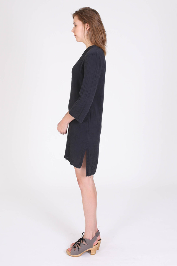 Raquel Allegra Tunic dress in black