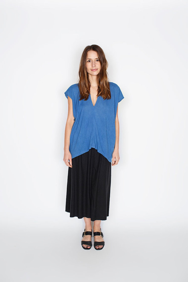 Miranda Bennett Everyday Top - Cotton Gauze