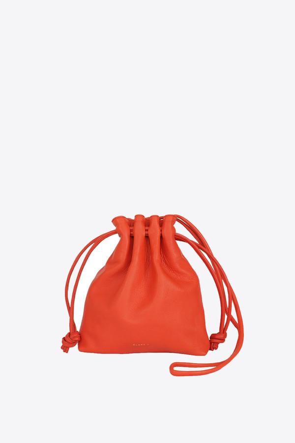 Clare V. Petit henri handbag in poppy nappa