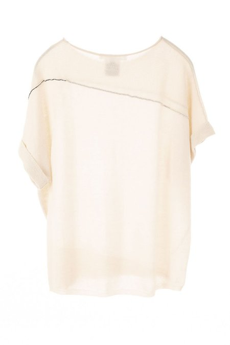 Paychi Guh Cuffed Pullover - Cheesecake