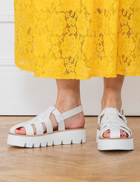 Grenson Marilyn Sandal - White