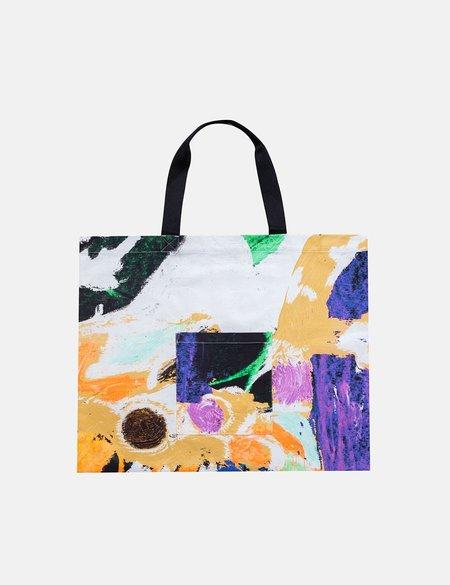 Folk Clothing x Alfie Kungu Tote Bag with Flare Print - Marigold