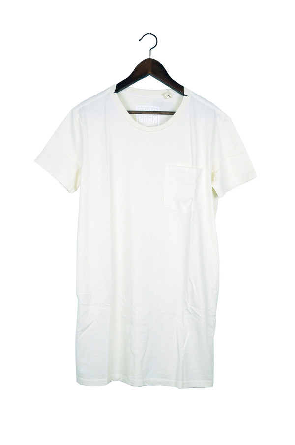 Skargorn #69 Tee Dress, Milk Wash