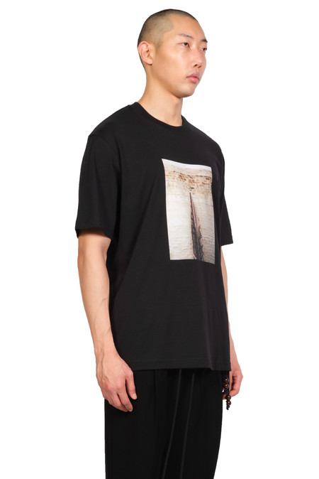 Song for the Mute Wall Oversized T-shirt - Black