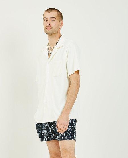 NIKBEN Bowling Terry shirt - cream