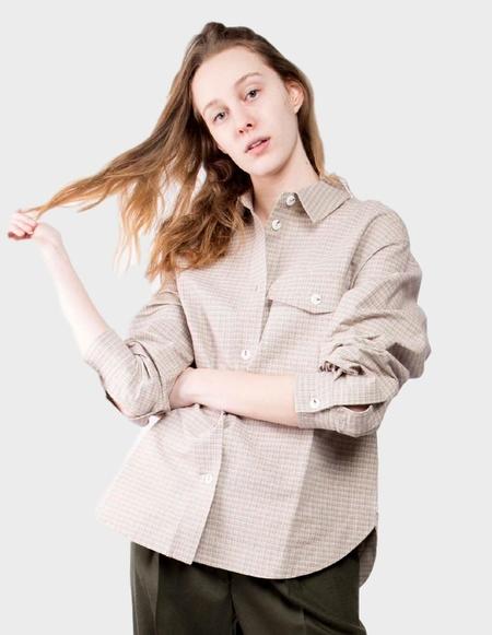 Wood Wood Rita Shirt - Green Check