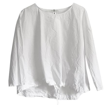 Album Di Famiglia Drawstring T shirt - white