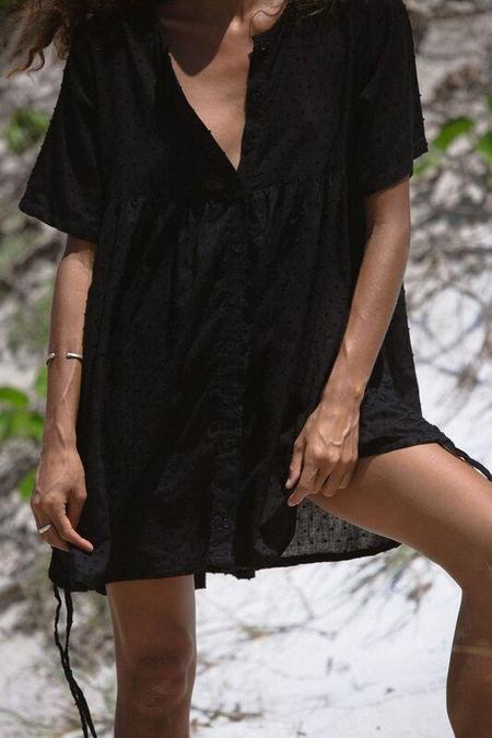 BAHHGOOSE LUSI DRESS - Black