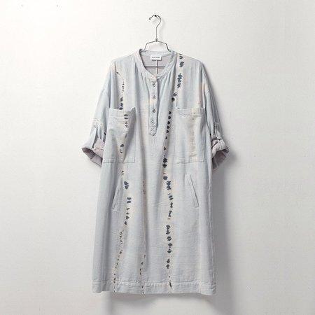 Atelier Delphine Beni Dress - Ice Wash Tie Dye