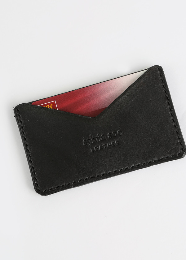 Sylvia Soo Leather No Fold Wallet