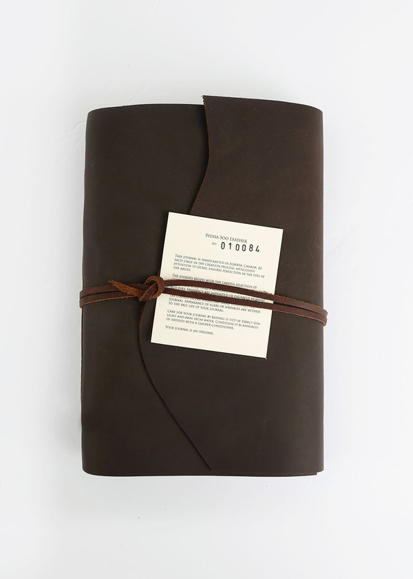 Sylvia Soo Leather Scotch Leather Journal