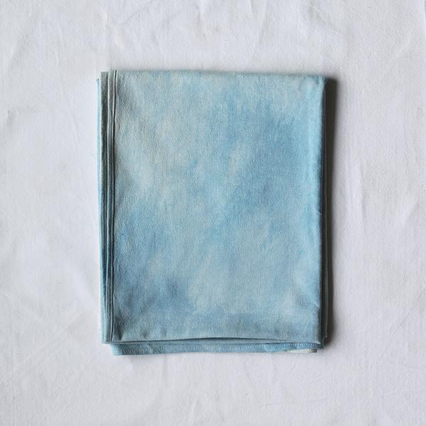 textiles,throw,hand dyed Fade Wrap