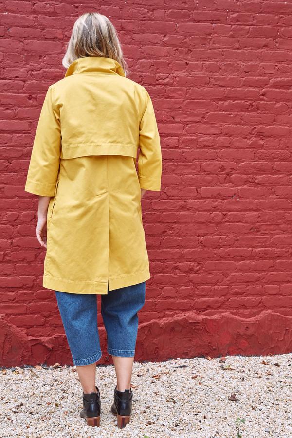 Ilana Kohn Charlie Trench Mustard
