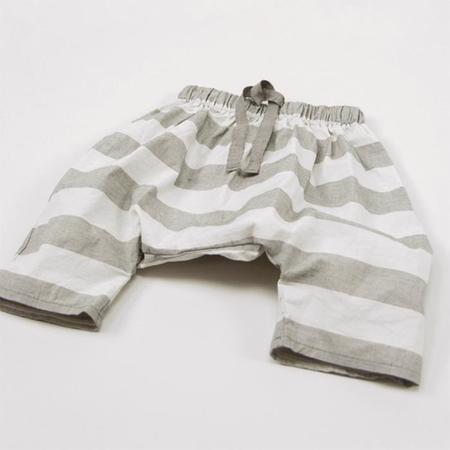 kids Album Di Famiglia Maryann Riga Pants - gray