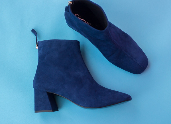L'intervalle Soho Boots (Blue Suede)
