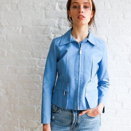 [Pre-loved] Louis Vuitton Cotton Jacket - Sky