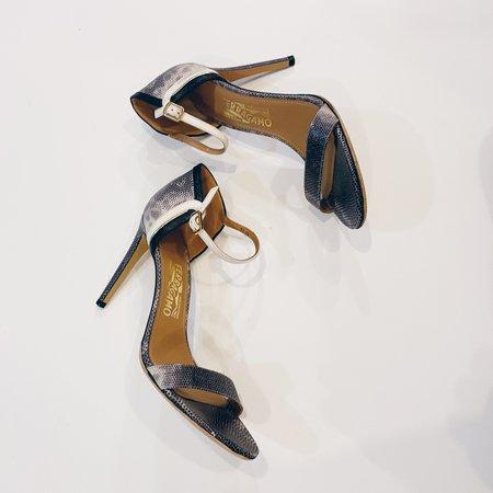 [Pre-loved] Salvatore Ferragamo Single Strap Sandal