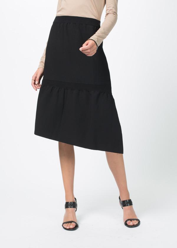 Sara Lanzi Stretch Crepe Skirt