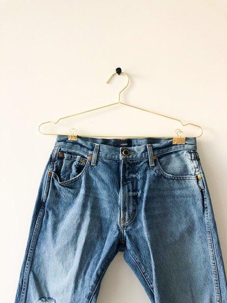 [pre-loved] Khaite Distressed 26 Jeans - Blue