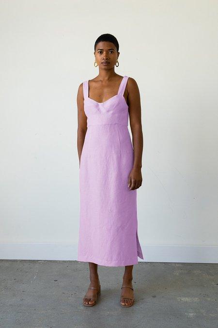 Waltz Bralette Dress in Blossom