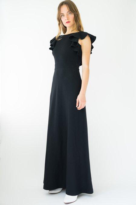 Vintage Italian Dress - Black