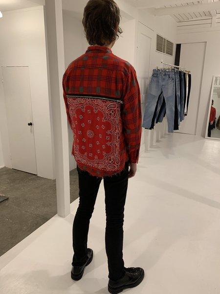 Old Park Flannel Bandana Bag Shirt