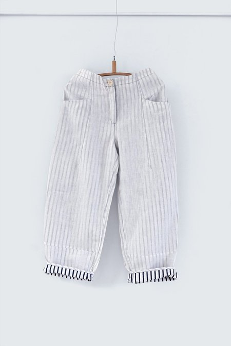 Karu Apprentice Suit Trousers - Handloom Linen