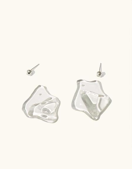 Cled Plateau Earrings - Clear Air