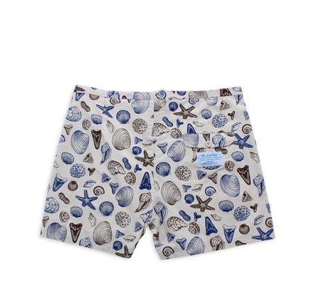 M. Carter Shells Board Shorts Shells/Bone