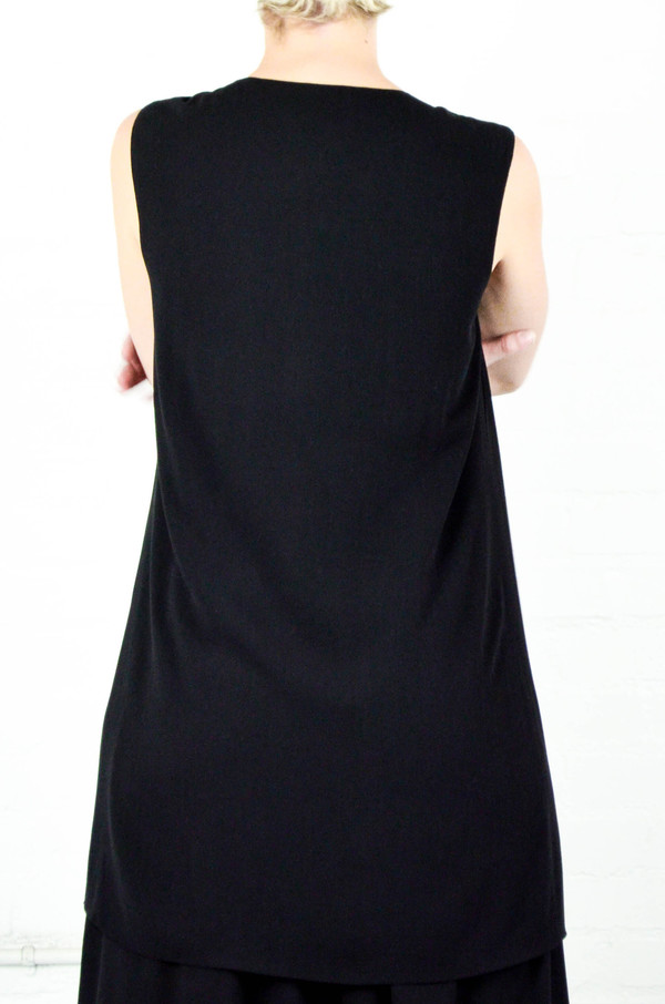 Assembly New York Assembly Crepe Zip Front Shift Dress
