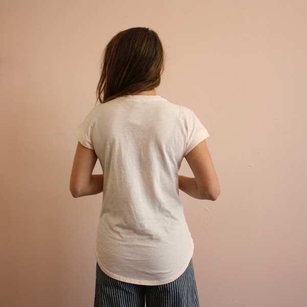 California Tailor Tomboy Tee - Blush