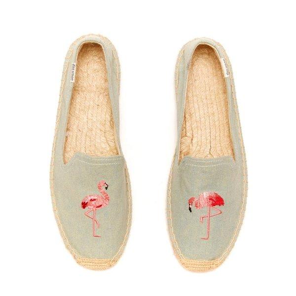 Soludos Flamingo Slipper