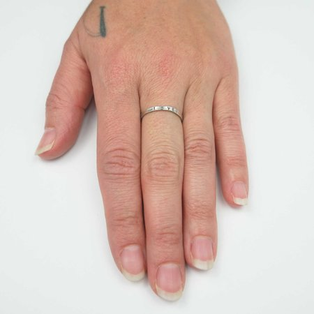 The Artist and the Alchemist Love Kassilina Ring - Sterling Silver