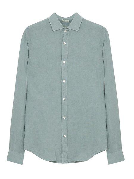 Hartford Sammy Linen Shirt - Sage