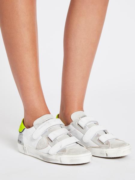 Philippe Model Paris Rips Fancy Sneaker - White